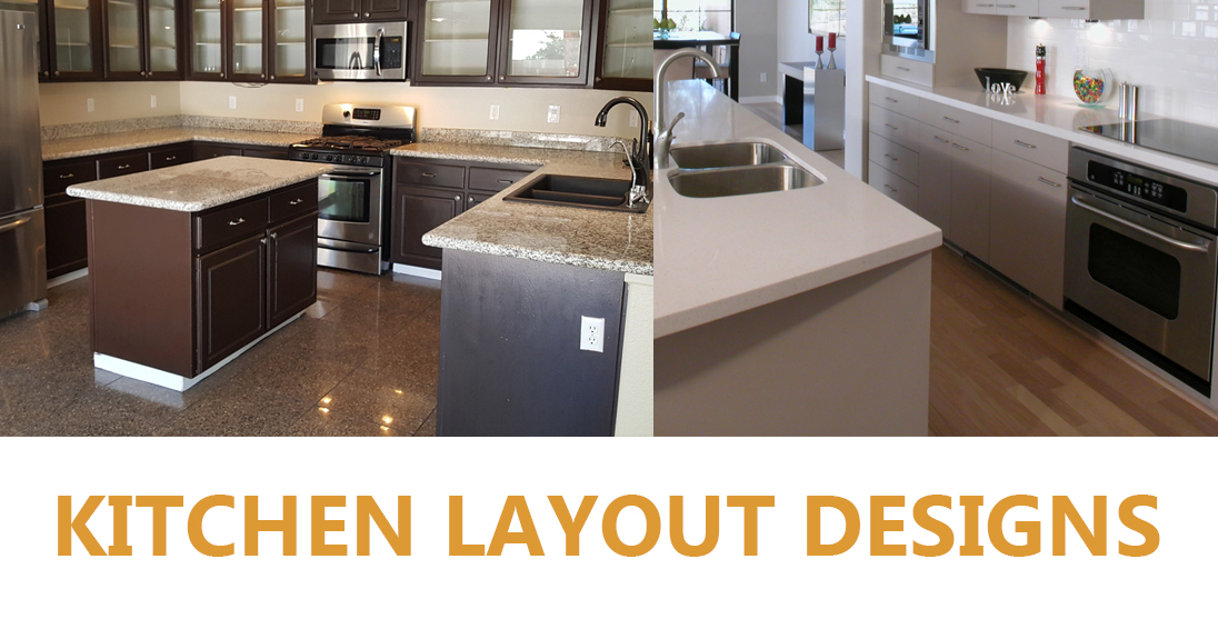 A Guide to the Various Kitchen Layout Designs