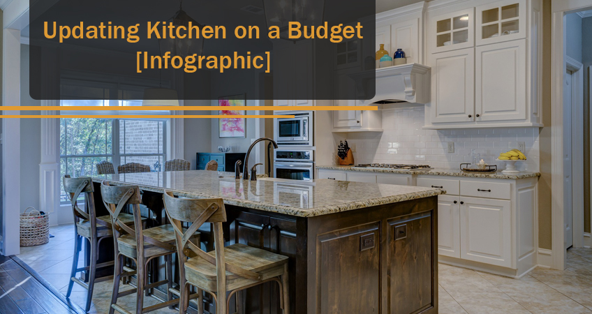 8 Budget Friendly Ways to Renovate Your Kitchen | Infographic