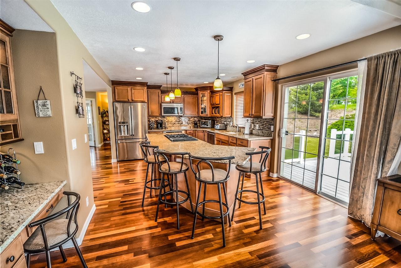 Contemporary Kitchen Flooring Ideas