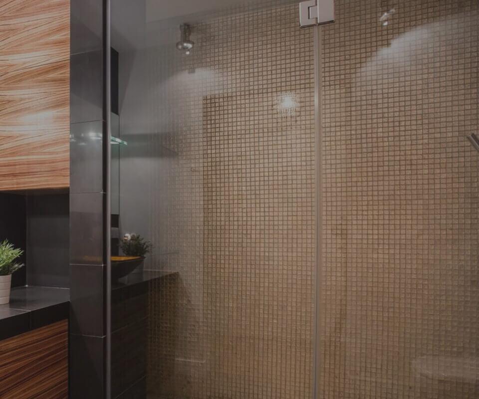 walk in showers Kent